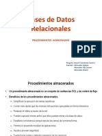 Bases de Datos Relacionadas - SQL Procedure