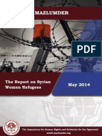 The Report on Syrian Women Refugees(2)