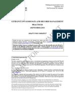 Guidance on Good Data Management Practices QAS15 624 16092015