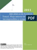 Tema 1 - Flujo Interno de Fluidos Compresibles e Incompresibles