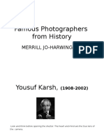 famous photographer ppt   student fill in 8384