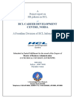226901710 2813 Hr Policies in Hcl at Hcl Cdc Noida Hr