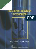 Fundamentos de Quimica y Estequiometría (1)