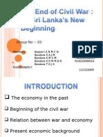 The End of Civil War :Sri Lanka's New Beginning
