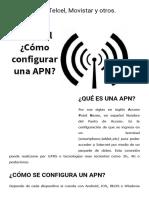 APN Iusacell, Telcel, Movistar y Otros