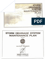 Storm Drainage System Maintenance Plan