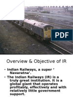 CRIS Indian railway. ERP