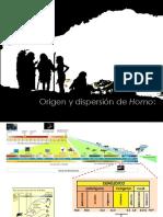 Origen y Dispersion Genero Homo 2016