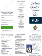 Catholic Charities Diocese of Biloxi Pamphlet