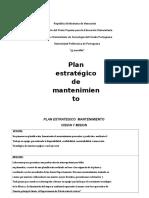 Plan Estrategico Mantenimiento-1 Manuel Azucarera