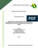 PROPUESTA DE CARTILLA PARA CONTROL ANIMAL IMPLEMENTADA EN EL RASTRO MUNICIPAL COMO ESTRATEGIA DE REDUCCIÓN DE TÓXICOS CONTAMINANTES PRESENTES EN CARNES.docx
