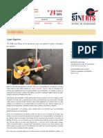 Entrevista a Juan Aguirre_ _El 15M nos influyó en lo personal, pero no cambió nuestro concepto de escribir_.pdf