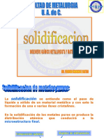 Apuntes Clase Solidificacion 2016