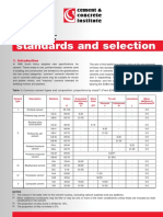 Cement Standards and Selection