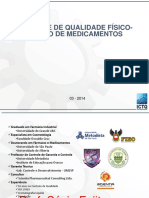 Controle de Qualidade Físico -Químico de Medicamentos
