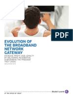 6756 Evolution the Broadband Network Gateway