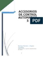 Accesorios de Control Automatico