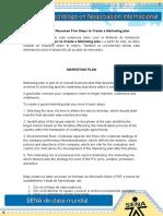 Evidencia 11 Resumen Five Steps to Create a Marketing Plan