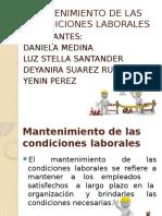 Mantenimiento de Las Condiciones Laborales (1)
