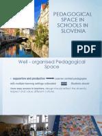 pedagogical space