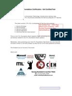 ITIL V3 Foundation Get Certified Fast