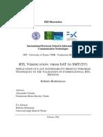 Bruttomesso PhD Thesis