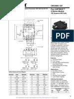 datasheet CM100BU-12H
