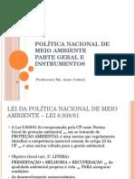 Política Nacional de Meio Ambiente (1)
