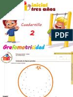 Grafomotricidad 3 Años Cuadernillo 2