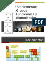 Grupos funcionales / Biomoleculas