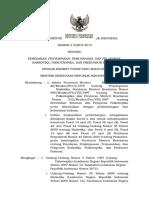 Permenkes 3-2015 Peredaran, Penyimpanan, Pemusnahan, Dan Pelaporan Narkotika
