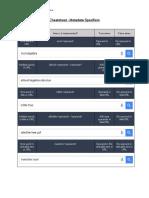 Cheatsheet Googles Metadata Specifiers