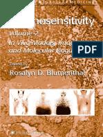 Chemosensitivity Vol 2