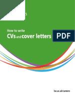 Cv Cover Letter Guide