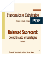 Sesion Balanced Scorecard