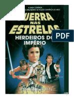 Timothy Zhan - Guerra Nas Estrelas_ Herdeiros Do Imperio - Vol.1