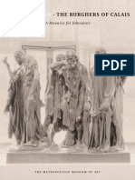 Auguste Rodin the Burghers of Calais a Resource for Educators