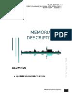 Memoria Descriptiva - Helecho