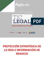 Apps-Protección estratégica de la idea e información de negocio. Camilo Escobar Mora.pdf