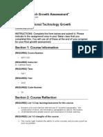 518 growth assessment