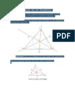 Lineas y Puntos Notables de Un Triangulo