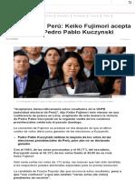 Elecciones en Perú_ Keiko Fujimori Acepta La Victoria de Pedro Pablo Kuczynski - BBC Mundo
