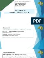 Caso Clínico Gineco. PREECLAMPSIA