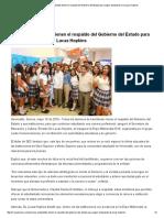 19/05/16 Jóvenes estudiantes tienen el respaldo del Gobierno del Estado para seguir estudiando