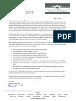 Leland Management Avalon Letter