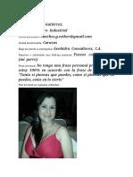 Esther Sanchez. Caracas