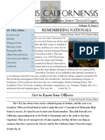 2014 Fall CJCL Newsletter