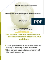 Stephen Lande - Financial Crisis and Trade - Final