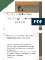Aprendendo Com Jesus a Ganhar Almas