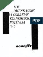 Dimensionamento Correias de Transmissão Goodyear
